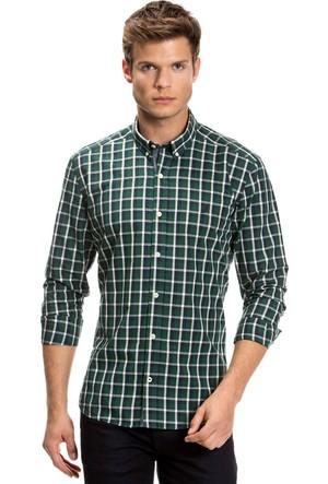Nautica Uzun Kollu Yeşil Erkek Gömlek W73939T.3Ue
