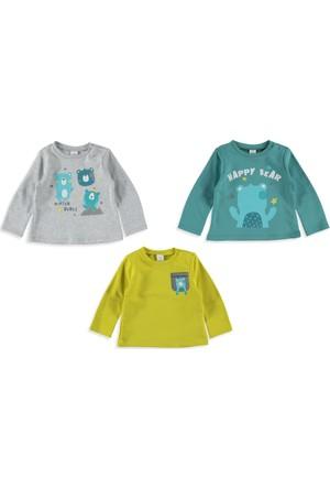 LC Waikiki Bebek 3'Lü Sweatshirt