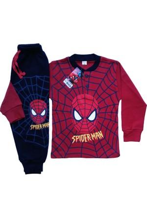 DobaKids Örümcek Adam Pamuklu Pijama Takımı