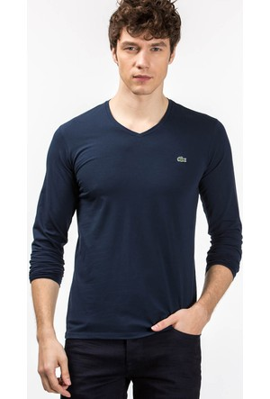Lacoste V Yaka T-Shirt Th6711.166