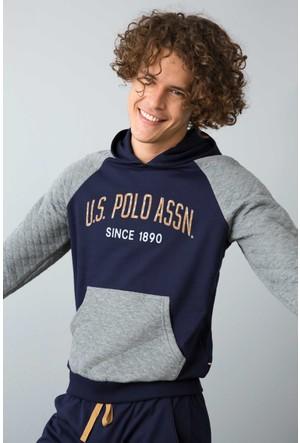 U.S. Polo Assn. Kapüşonlu Pijama Takım
