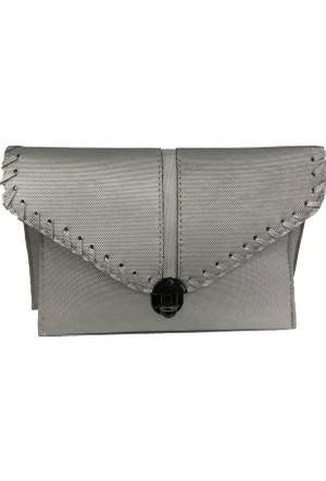 Çanta Stilim Gümüş Renk 4871-Gm Porföy Ve Çapraz Bayan Çantası