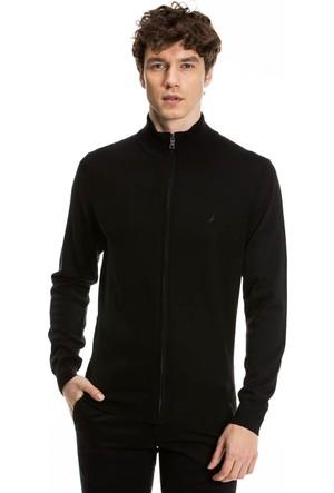 Nautica Siyah Erkek Sweatshirt S73112T.0TB