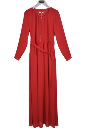 Stilife 8390 Zipli Yoryo Elbise 17-1