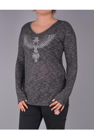 Lsk 2694 Eagle Printed Sweatshirt 17-2