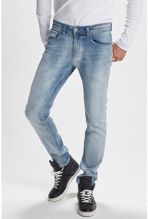 Vena Jonny Light Blue Denim Pantolon Mavi