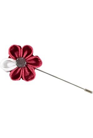 Kiğılı Çiçek Çubuk Yaka İğnesi
