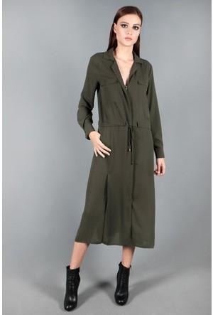 Spazio Nestail Şifon Uzun Elbise