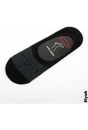 Deepsea Siyah Düz Erkek Babet Çorap 1707087