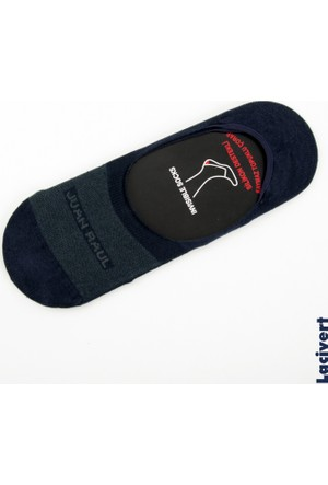 Deepsea Lacivert Düz Erkek Babet Çorap 1707087