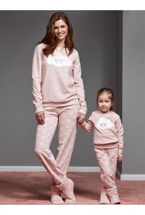 Catherine'S 1105 Kışlık Bayan Pijama Takımı