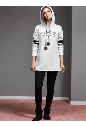 Catherine'S 1114 Kışlık Bayan Pijama Takımı