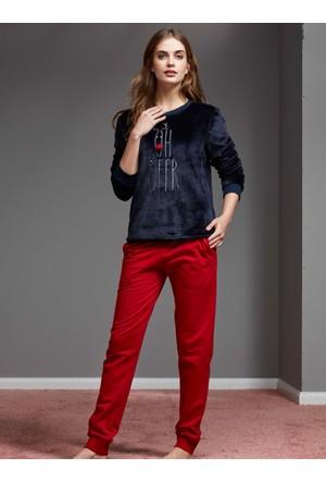 Catherine'S 1137 Kışlık Bayan Pijama Takımı