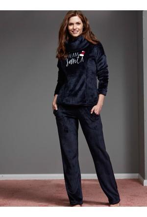 Catherine'S 1138 Kışlık Bayan Pijama Takımı