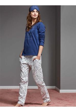 Catherine'S 1149 Kışlık Bayan Pijama Takımı