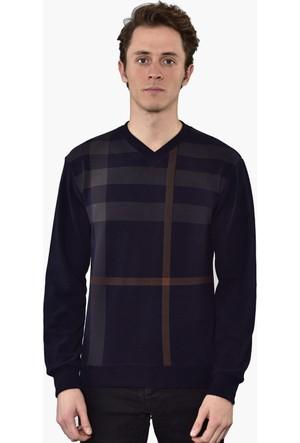 Westside V Yaka Selanik Sweatshirt 18K6006 Lacivert