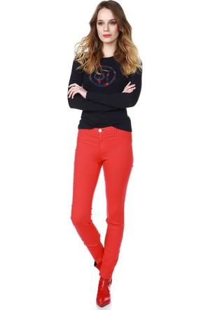Armani Jeans Kadın Sweatshirt Mavi 6X5T04 5J00Z