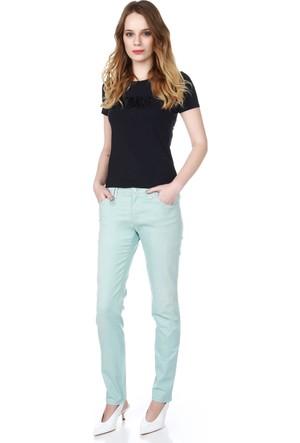 Armani Jeans Kadın Pantolon Mavi V5J28 8N