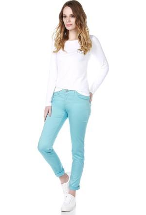 Armani Jeans Kadın Pantolon Mavi A5J28 JR