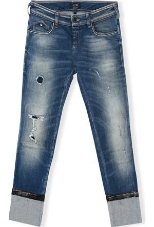 Armani Jeans Kadın Pantolon Mavi B5J59 5K