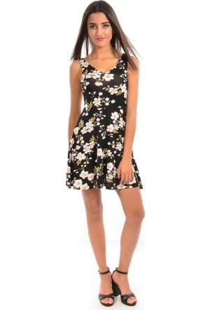 Golden Apple Kadın Çiçek Desenli Elbise 2760