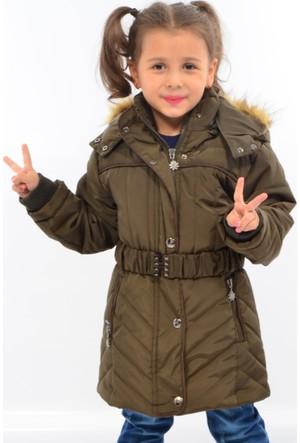 Zena Kız Çocuk Kapüşonlu Mont 2462