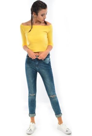 Zift Kadın Kot Pantolon