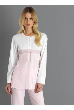 Ayyıldız 2080 Yuvarlak Yakalı Pijama Takımı