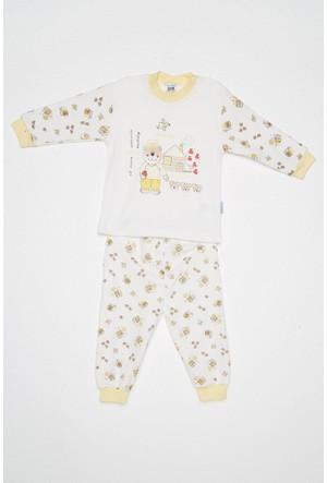 FullaModa Erkek Çocuk Baskılı Pijama 18MGÜLER0085