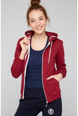 FullaModa 18KALAT0013 Kadın Kapüşonlu Sweatshirt