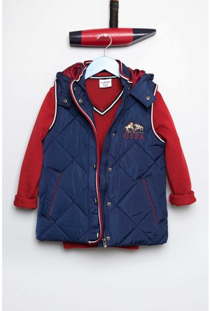 U.S. Polo Assn. Erkek Çocuk Alberto Yelek