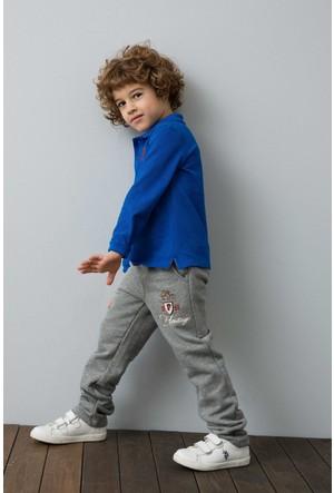 U.S. Polo Assn. Erkek Çocuk Edvinas Eşofman Gri