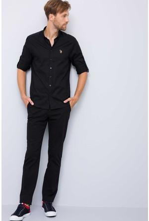 U.S. Polo Assn. Erkek Luis7Y-Ing Pantolon Siyah