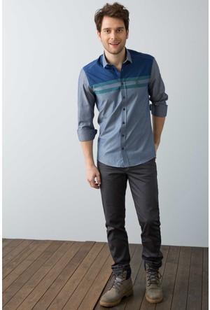 U.S. Polo Assn. Erkek Michael7S Pantolon Gri