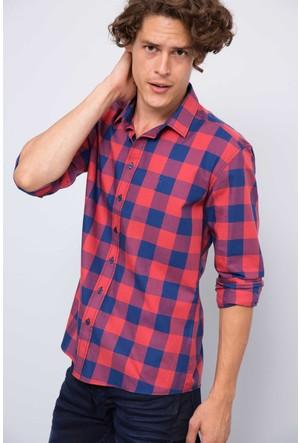 U.S. Polo Assn. Erkek Pelle Gömlek Kırmızı