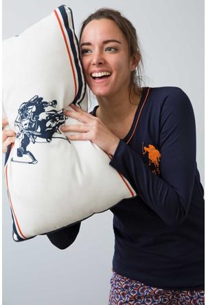 U.S. Polo Assn. Kadın 15937P Pijama Lacivert