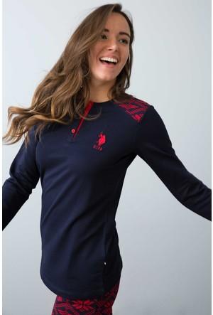 U.S. Polo Assn. Kadın 15947P Pijama Lacivert