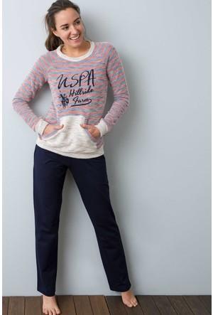 U.S. Polo Assn. Kadın 15967P Pijama Lacivert