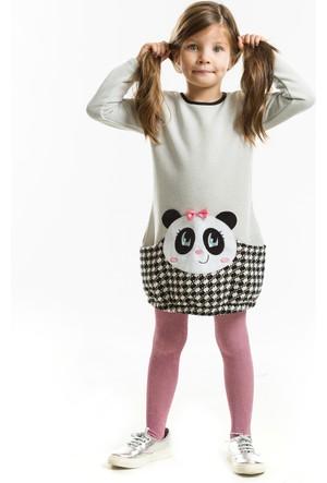 Denokids Cepte Panda Elbise