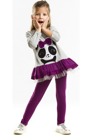 Denokids Happy Panda Tunik Takım
