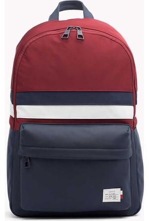 Tommy Hilfiger M02410-901 Tommy Backpack Retro Günlük Çanta