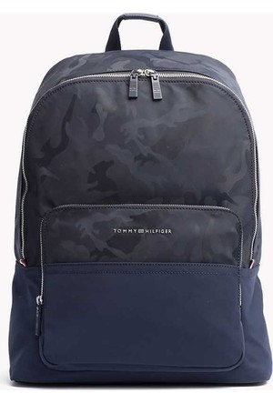 Tommy Hilfiger M02638-413 Tailored Nylon Backpack Günlük Çanta