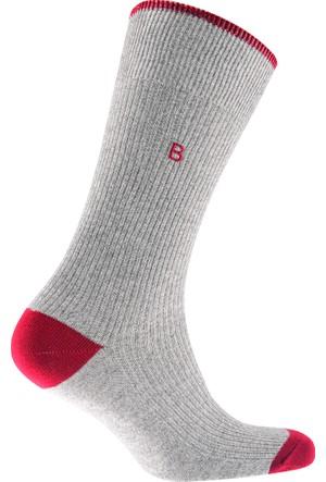 Katia&Bony Embroidery Erkek Soket Çorap