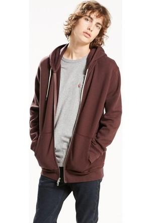 Levi's Erkek Zip Hoodie Sweatshirt Original 35982-0003