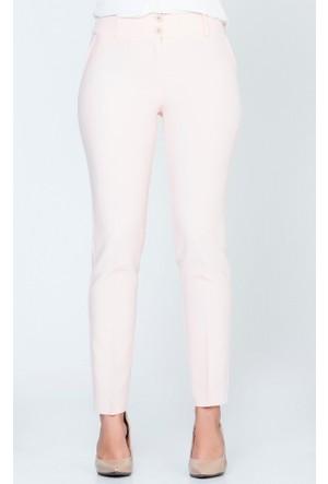 Benguen Klasik Pantolon 1002 Pudra