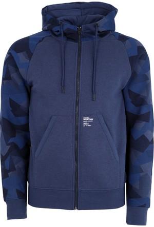 Jack & Jones Sweatshirt Jcoalf Zip Hood 12129613-LGM