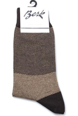 Berk Erkek Çorap Pamukp1663Lıl