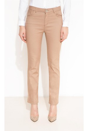 DeFacto Kadın Trend Pantolon Bej