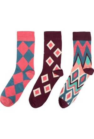 DeFacto Kadın Trend Çorap Bordo