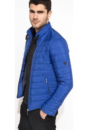 DeFacto Erkek Şişme Mont Mavi
